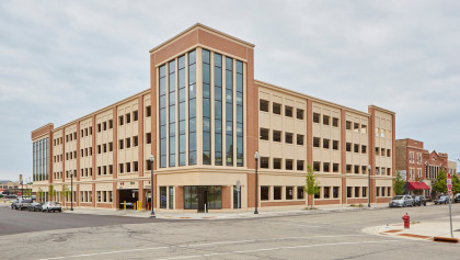 County Prestress Delivers Architectural and Structural Concrete Solutions for Downtown Kenosha Parking Structure
