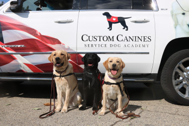 County Prestress Assists Custom Canines Service Dog Academy in Providing Heroes for Heroes