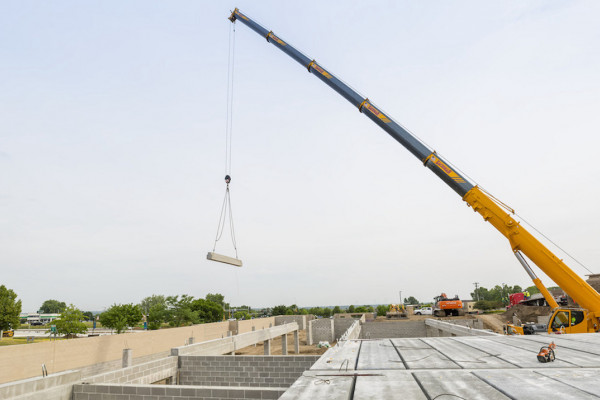 County Prestress' Hollowcore is Manufactured and Delivered to Meet Aggressive Construction Schedules