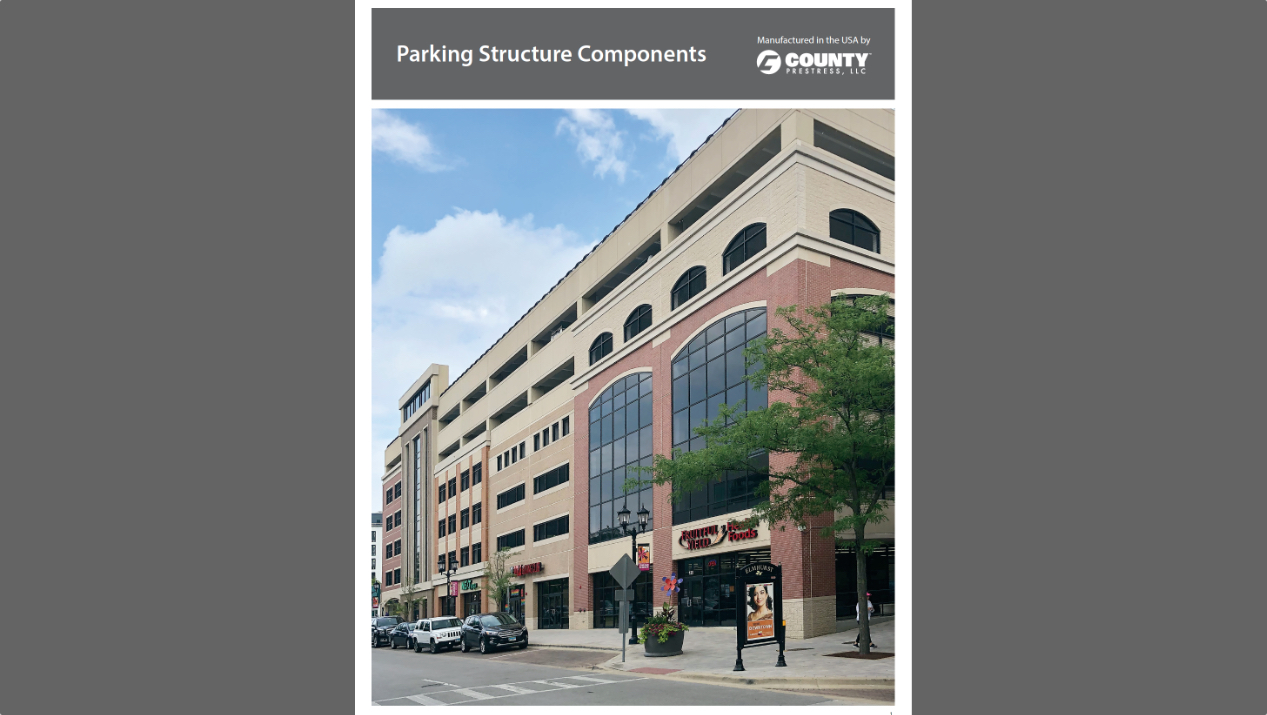 County Prestress Releases Parking Structure Components Brochure